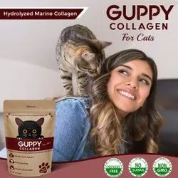 Guppy Collagen for Cats