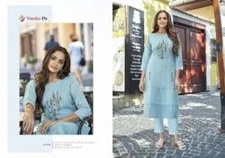 Casual Wear Cotton Full-Stitched Salwar Suit