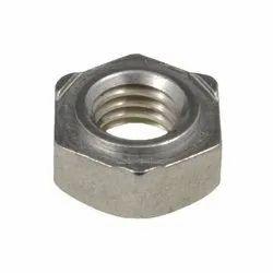 KSI Hexagonal Stainless Steel Hex Weld Nut, Thickness: Standard, Size: M3 - M16