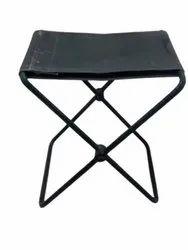 Black Rectangular Mild Steel Folding Table, For Home,Hotel And Restaurant, Size: 4x2ft