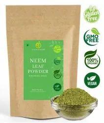 A D Food & Herbs Organic Dried Neem Leaves / Azadirachta Indica Leaves Powder