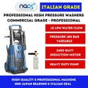 Italian Grade 180 Bar Professional Car Washer With Induction Motor