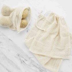 GOTS Organic Cotton Mesh Bag