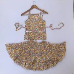 Hand Block Printed Cotton Baby Dress Exporter