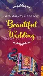 Royal Red Wedding Invitation