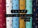 Sound 100% Cotton Print Shirting Fabric