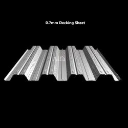 0.7mm Galvanized Iron Decking Sheet