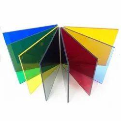 Coloured Transparent Acrylic Sheet