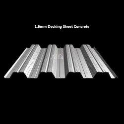 1.6mm Decking Sheet Concrete