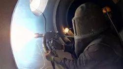 Inconel 625 Coating inside Flare Stack