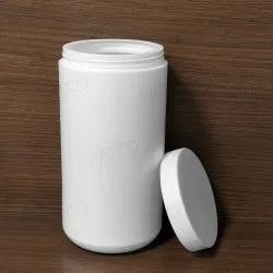 Powder Hdpe Jars 500gm