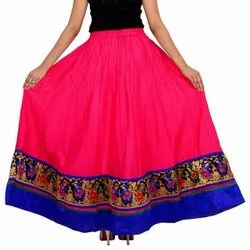Printed Cotton Fancy Skirt