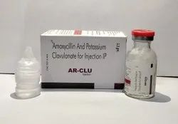 Amoxycillin + Potassium Clavulanate 1.2mg Injection