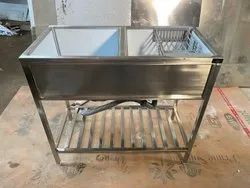 Stainless Steel Kitchen Sink For Domestic & Commercial Use