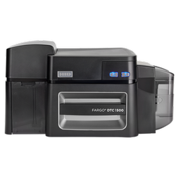 Hid Fargo Hdp600ii Financial Card Printer & Encoder
