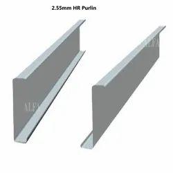2.55mm Hot Rolled Mild Steel HR Purlin