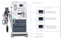 Athena SV200 & SV 400 Anesthesia Machine, For Hospital
