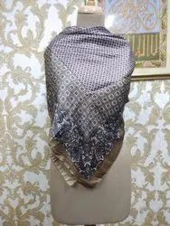 Female satin scarves