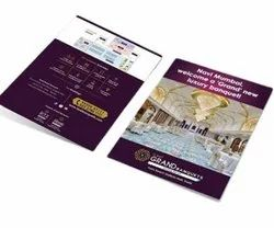 Laminated Paper Promotional Printed Brochure, Size: A4