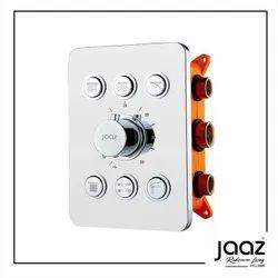 Thermostatic Mixer & Diverter ( Push Button Multifunction 6 Diverters)
