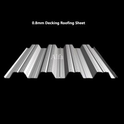 0.8mm Decking Roofing Sheet