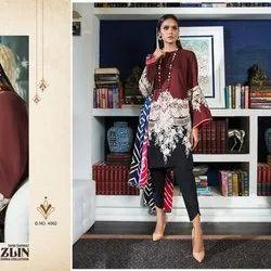 Cotton Pakistani Lawn Suits