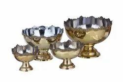 Punch Bowls Brass