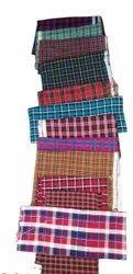 Woolen  Check Cashmilon Fabric