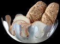 Round Hammered Bread Basket