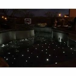 Swimming Pool Flooring Fiber Optic Lighting