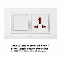 Orril Plastic Electrical Switch Board