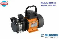 Water Pump Stainless Steel 0.50 HP Self Priming Pumps, For Home Use