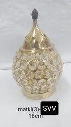 Crystal Matki Shape Akhand Diya