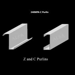 240 MPA Mild Steel Cold Rolled Industrial C Purlin