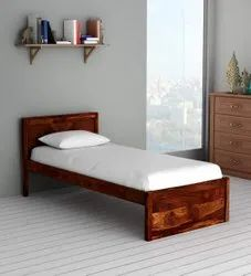 SS Interiors Sheesham Wooden Single Bed, Size: 3 X 6 Ft