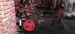 10 Kgs Gym Floor Mat Ultra Heavy Duty - Plain  (interlocking & Portable - No Pasting) With Warranty)