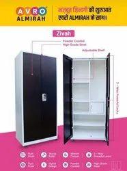 2 Doors Avro Almirah Zivah - High Grade Steel, With Locker