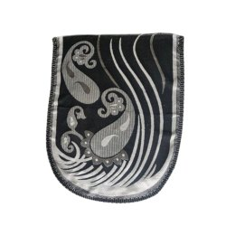 Black Cotton Sofa Panel, Size: 27 Inch