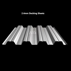 2.4mm Galvanized Decking Sheets