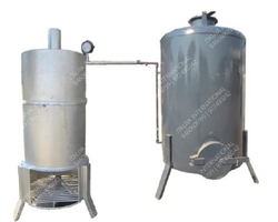Wood Fired 500 kg/hr Steam Boiler, Non-IBR