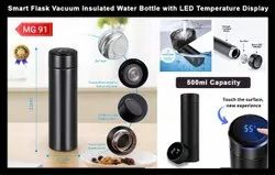 Insulated Vacuum Flask Water Bottle with LED Temperature Display