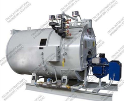 Solid Fuel Fired 1000 KG/HR Steam Boiler, IBR Approved