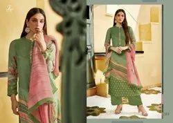 Ladies Designer Silk  Salwar Suit