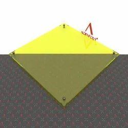 Yellow Transparent Acrlic Sheet