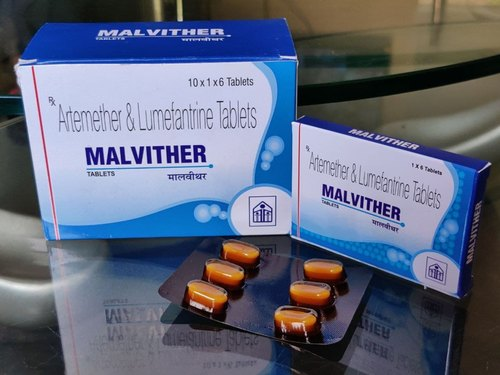Artemether 80 Mg Lumefantrine 480mg Tablets