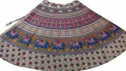 Pigment Wrap Around Skirt