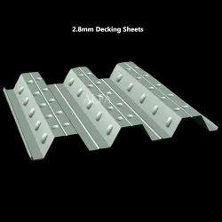 2.8mm Galvanized White Decking Sheets