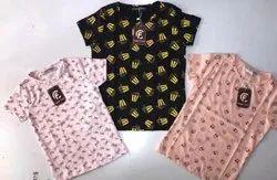 Girls Trendy Printed Top