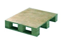 Rectangular 4 Way Industrial Plywood Pallet, Capacity: 300Kg