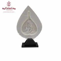 Silver Krishna Idol